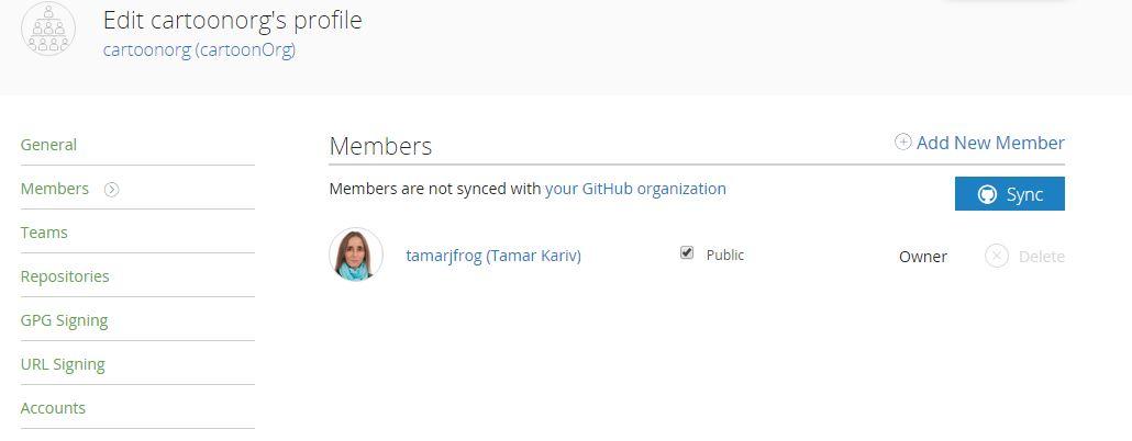 Sync members