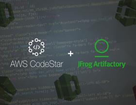 Cloud Native CI/CD Pipelines using AWS CodeStar and JFrog Artifactory