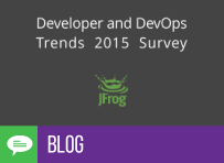 JFrog's Developer and DevOps Trends Survey 2015