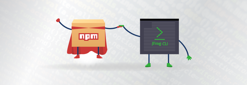 JFrog CLI and npm builds