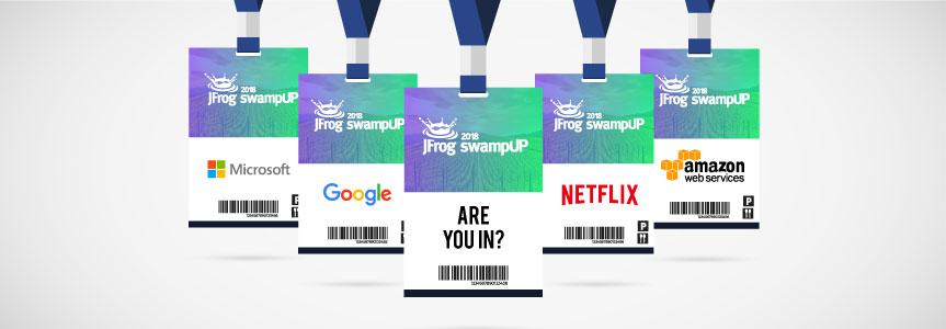 JFrog swamUP DevOps event