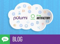 Reusable Cloud Infrastructure as Code with Pulumi and JFrog Artifactory