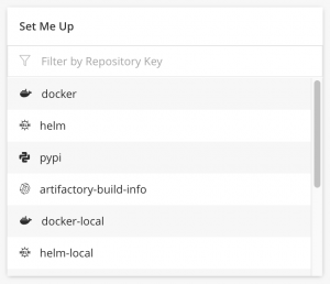 Artifactory Repository Set Up