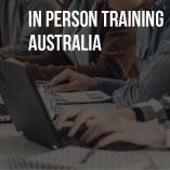 IN-PERSON TRAINING – AUSTRALIA