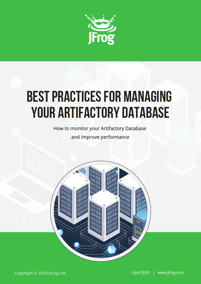 Best Practices for Managing your Artifactory Database