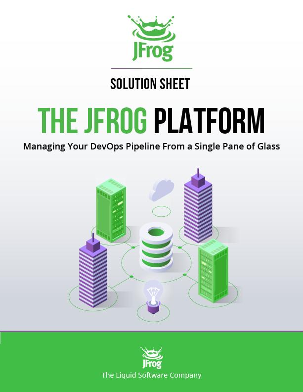 JFrog Cloud Platform Solution Sheet