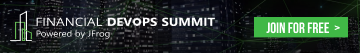 JFrog Financial Summit Banner