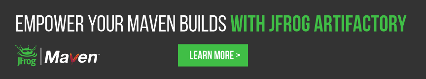 Empower your maven builds with JFrog's Artifactory DevOps tool