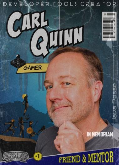Carl Quinn SuperFrog