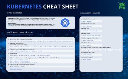 Kubernetes cheat sheet