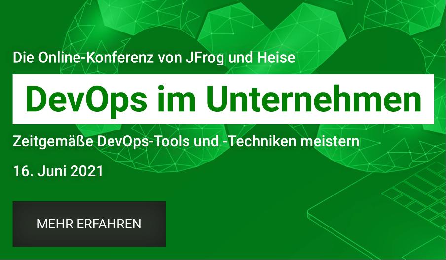 Heise & JFrog: DevOps im Unternehmen