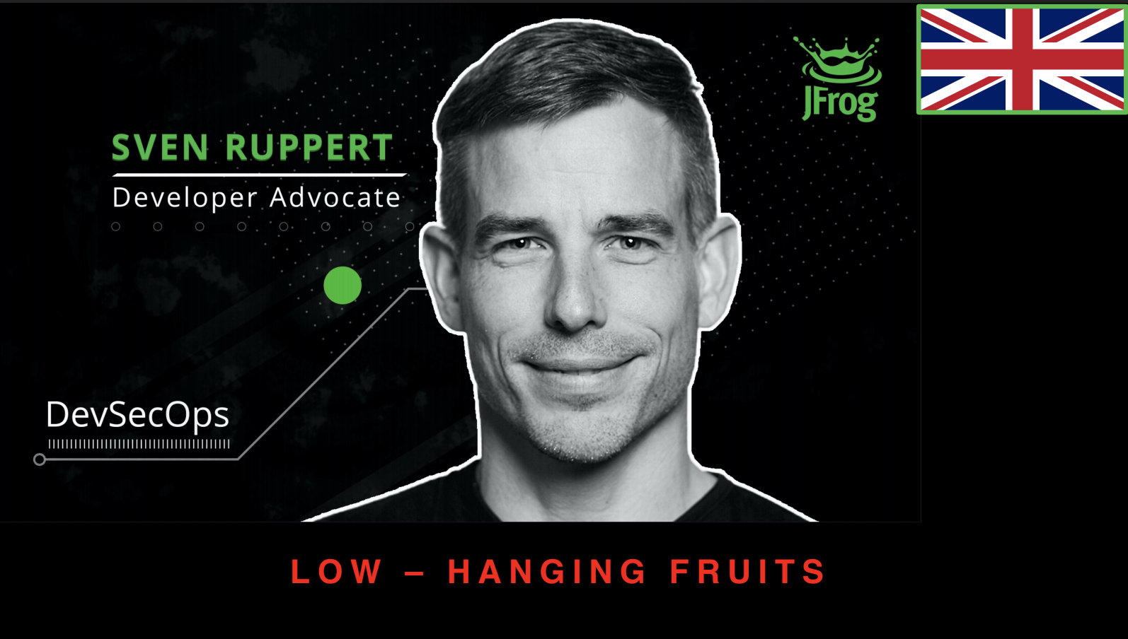 DevSecOps: Quick Wins and Low Hanging Fruit @ DevOps Turkey Meetup