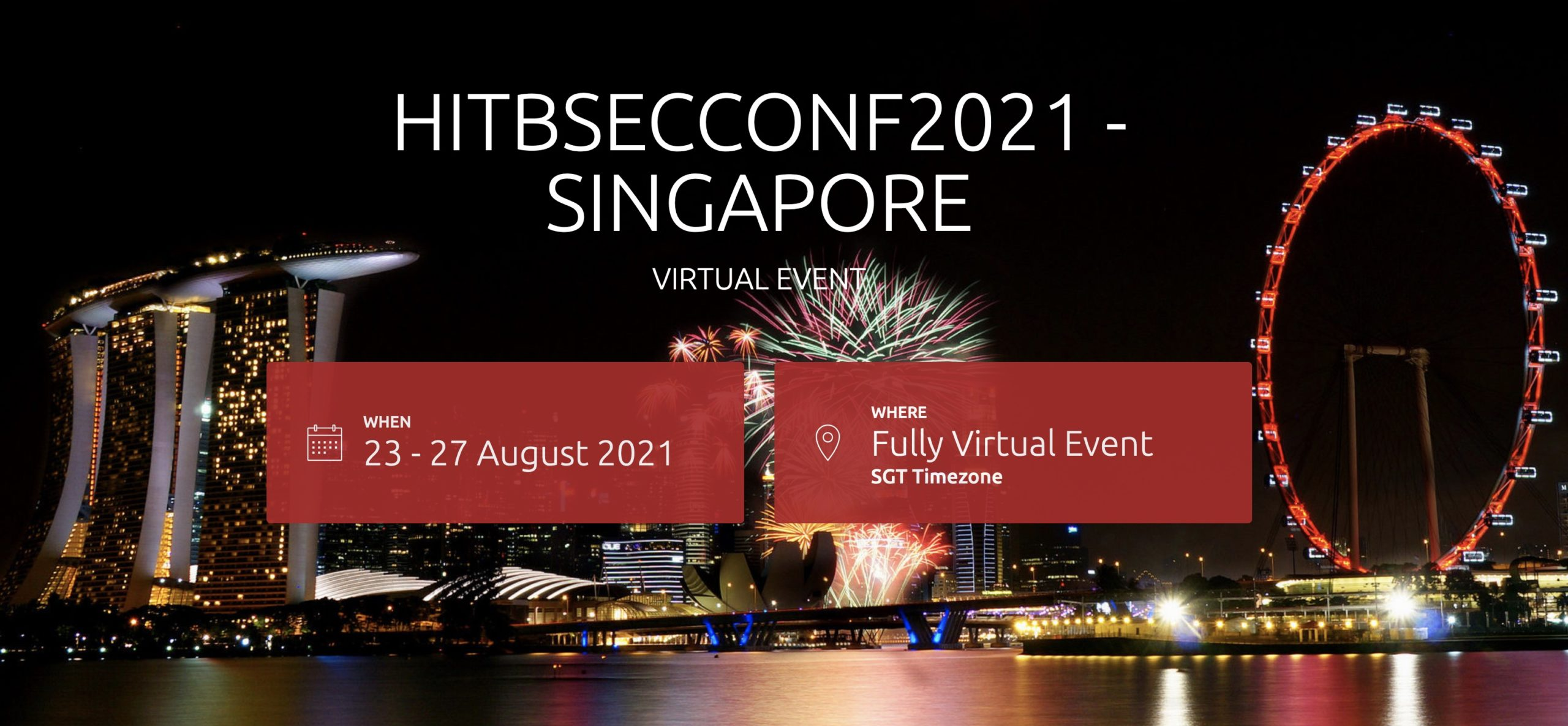 HITBSECCONF2021 – SINGAPORE