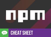 Cheat Sheet: npm Made Easy