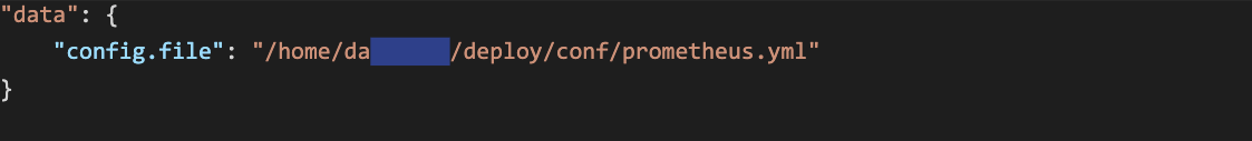 Prometheus code block